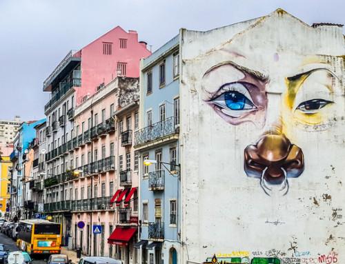 Lisboa, la ciudad que se convirtió en un lienzo
