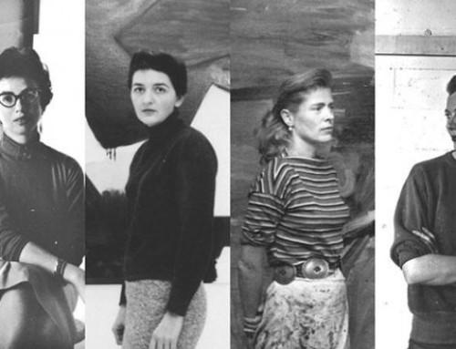 Expresionismo Abstracto; 11 mujeres en la cumbre